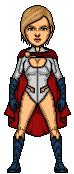 Power Girl by treforable
