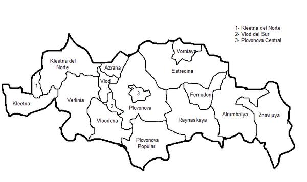 Provincias de la Republica Znavina