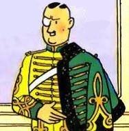 Colonel Boris Jorgen Syldavia Tintin