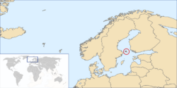 National Map Aland