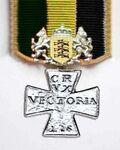 Krzyż Srebrny, Klasa IV
