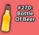 9x028 - Bottle of beer