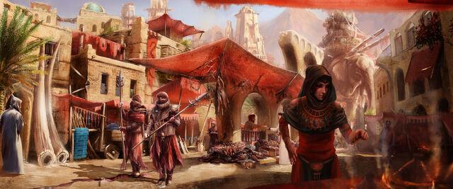 File:The umbar market harad by direimpulse-d7k2pnp.jpg