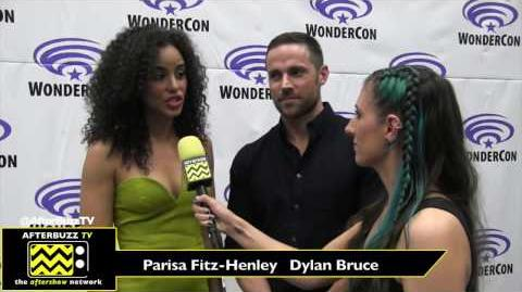 WonderCon 2017 'Midnight, Texas' Parisa Fitz-Henley & Dylan Bruce
