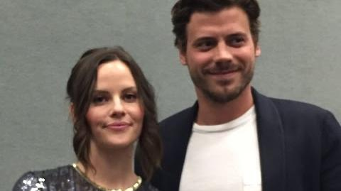 Midnight, Texas - Francois Arnaud, Sarah Ramos Interview (WonderCon)