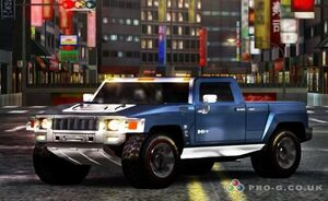 MC3 DUB Edition Remix Hummer H3T Front View