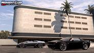 MCLA Dodge Challenger and Lamborghini Murcielago Preparing to Race