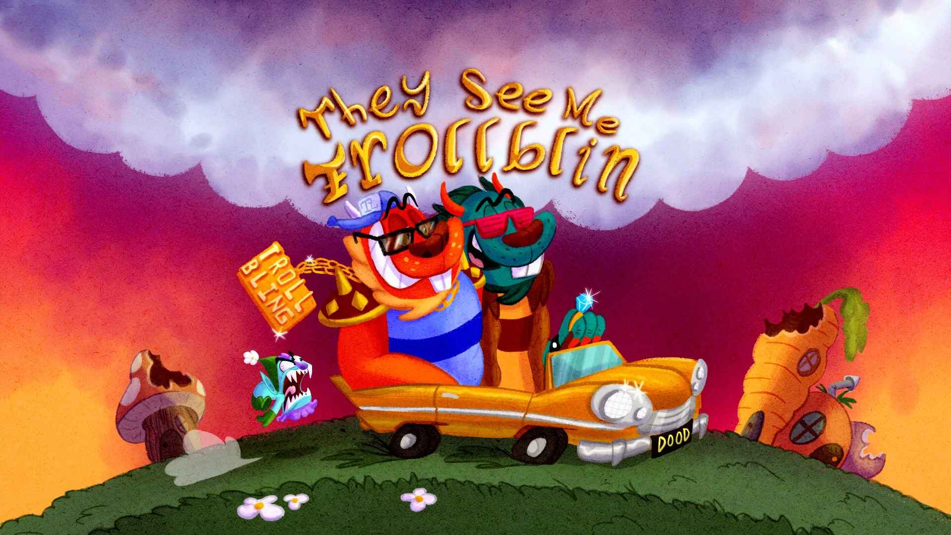 They See Me Trollblin Title Card