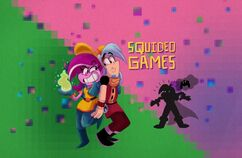Squideo Games Title Card