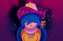 Sibling Sorcery Title Card