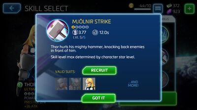 Mjolnir Strike