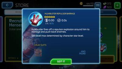 Hulkbuster Repulsor Barrage