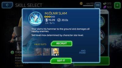 Mjolnir Slam