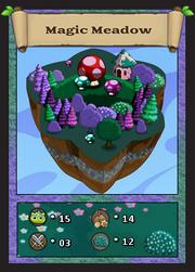 Magic meadow card