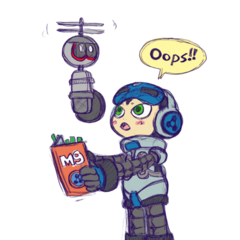 Promotional art of Beck doing voice over work.