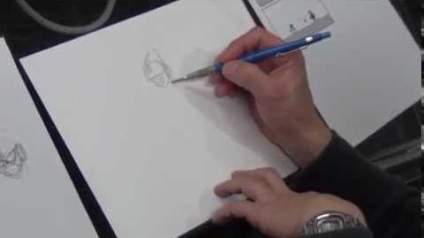 Mighty No. 9 Inafune Draws - Humanoid Robot Enemy -