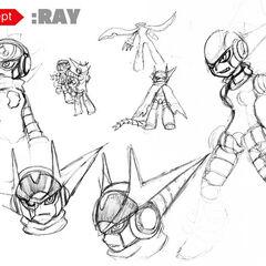Additional concept sketches by KIMOKIMO