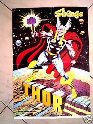 Merchandise-poster-thor strange-foreign-12212007