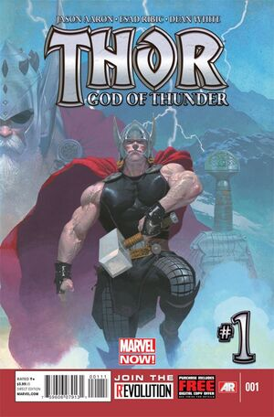Thor God of Thunder Vol 1 1