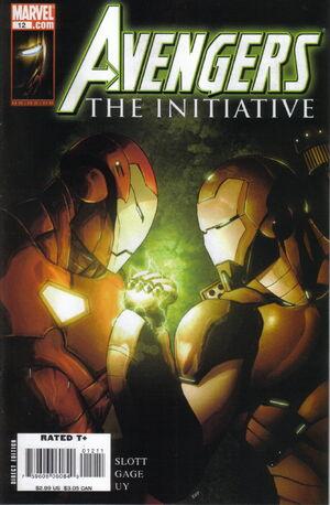 Avengers The Initiative Vol 1 12