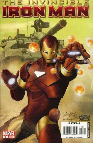 Invincible Iron Man Vol 1 2