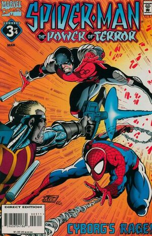 Spider-Man Power of Terror Vol 1 3