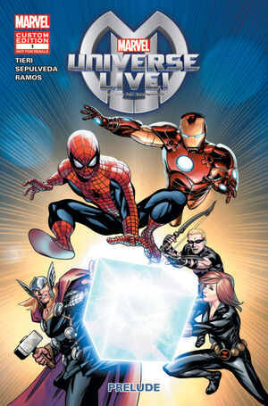 Marvel Universe Live Vol 1 1