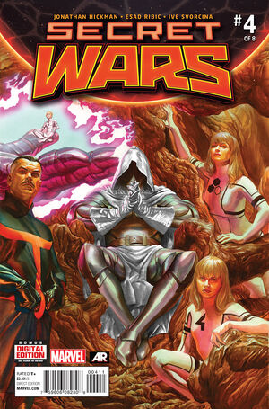 Secret Wars Vol 1 4