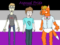 Asexual pride drawing w me and my friends by crystals1986-d5zr5wa