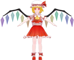 Flandre Scarlet by Ginjishi