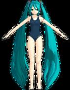 Miku swimwear 2 by Redstone