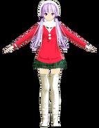 Yukari Christmas red version by Hatuki