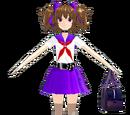 Komi Natsume Redesign Schoolgirl (SketchyMod)