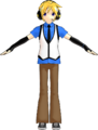 Len Kagamine Happy Synthesizer Yellow Blossom.png