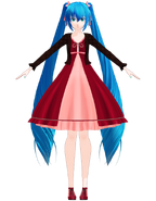 Miku V3 dress by Uri