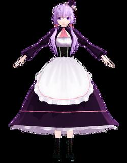 Yukari maid by Uri