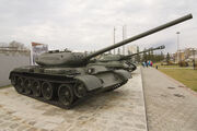 Tank T-54 in Verkhnyaya Pyshma