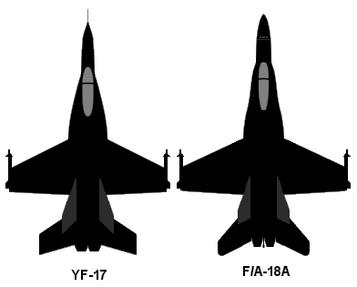 YF-17 F-18
