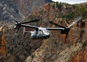 CV-22 Osprey in flight