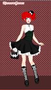 Anime Gothic Star-Ella