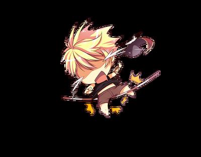 Arousal Chibi Blade Protector