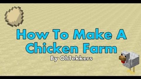 Minecraft Chicken Egg Farm - Redstone Tutorials 1.5.1