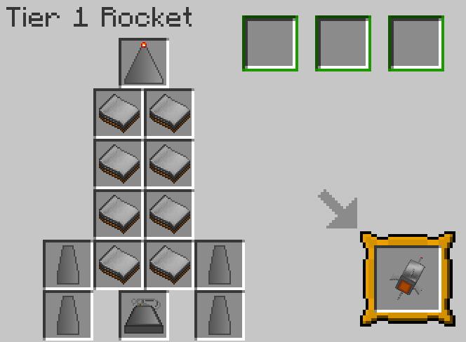 Minecraft Crafting Terminal