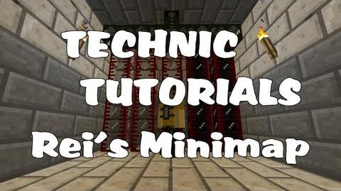 Technic Tutorials 1-2. Rei's Minimap (In Depth)