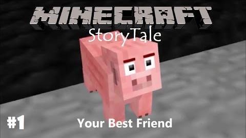 (MMD) Minecraft StoryTale PART 1 - Your Best Friend