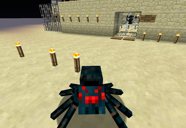 File:A Cave Spider Near the Military Base.png