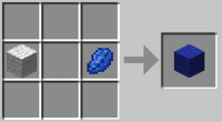 Crafting-blue-wool