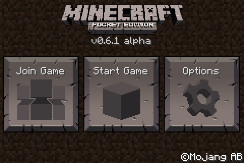 File:MCPE title 0.6.1.png