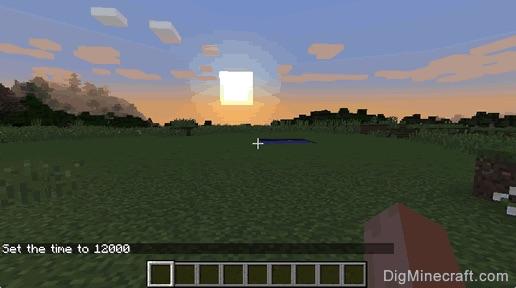 File:MinecraftSunset.jpg