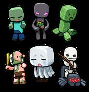 Minecraft Chibies 1